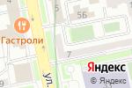 Схема проезда до компании Согласие в Екатеринбурге