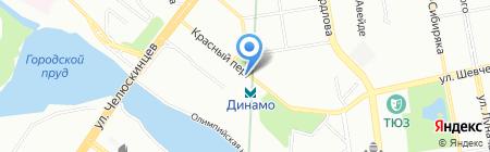 Уральский фонд сбережений на карте Екатеринбурга
