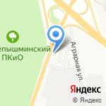 Таривана групп-авто на карте Верхней Пышмы