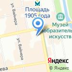 7 Звёзд на карте Екатеринбурга