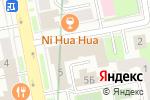Схема проезда до компании Архик в Екатеринбурге