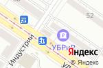Схема проезда до компании Элит-букет в Екатеринбурге
