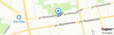 Магазин горящих путевок на карте Екатеринбурга