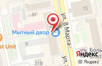 Схема проезда до компании Красота Проф в Екатеринбурге