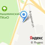 АвтоБУМ-сервис на карте Верхней Пышмы