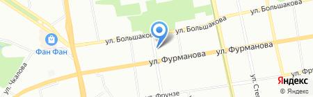 Виста-Аэро на карте Екатеринбурга