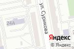 Схема проезда до компании ЛидерСтрой в Екатеринбурге