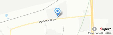 ЕвроЭнерго на карте Екатеринбурга