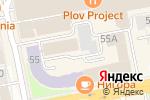 Схема проезда до компании Гэти в Екатеринбурге
