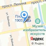 IL Патио на карте Екатеринбурга