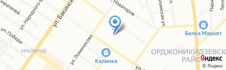 ВОЗДУХ ДОМА на карте Екатеринбурга