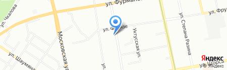 КЛЮЧЕВЫЕ РЕШЕНИЯ на карте Екатеринбурга