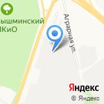 Средне-Уральская геологоразведочная экспедиция на карте Верхней Пышмы