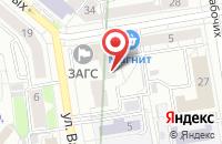 Схема проезда до компании Инфопро в Екатеринбурге
