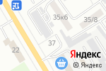 Схема проезда до компании Единая диспетчерская служба в Верхней Пышме