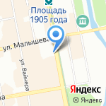 ОБЪЕКТ на карте Екатеринбурга
