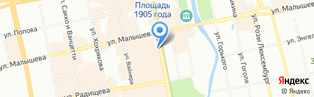 Фотошкола-студия Ильи Строкова на карте Екатеринбурга