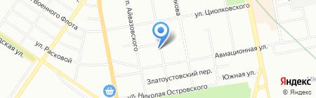 СантехЭлектро на карте Екатеринбурга