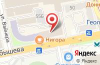 Схема проезда до компании Снабсбыт в Екатеринбурге