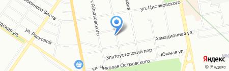 АЛЬФА-СБ на карте Екатеринбурга