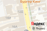 Схема проезда до компании Центр саморазвития Норбекова в Екатеринбурге