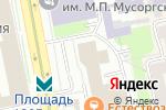 Схема проезда до компании Жиляев и Партнеры в Екатеринбурге