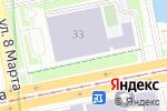 Схема проезда до компании Школа Каратэ Кекусинкай Единство в Екатеринбурге