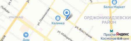 Пив & Ко на карте Екатеринбурга