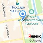 Globus-travel tour на карте Екатеринбурга