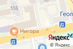 Схема проезда до компании Stella Mackartney в Екатеринбурге