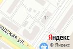 Схема проезда до компании Художественная студия Татьяны Букреевой в Екатеринбурге