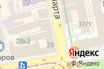 Схема проезда до компании Черника в Екатеринбурге