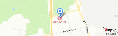 Травмпункт на карте Екатеринбурга