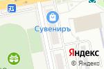 Схема проезда до компании ПОТОК-сервис в Екатеринбурге