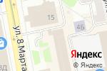Схема проезда до компании Тадж-Махал в Екатеринбурге