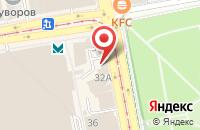 Схема проезда до компании Самодел в Иваново