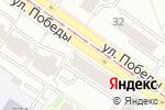 Схема проезда до компании Рено-Пежо в Екатеринбурге