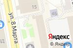 Схема проезда до компании Saorsa в Екатеринбурге