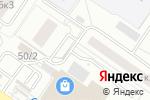 Схема проезда до компании Форсаж в Екатеринбурге