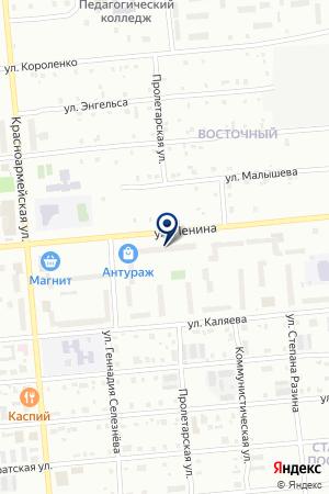 МАГАЗИН СОЮЗ-МЕБЕЛЬ на карте Серова