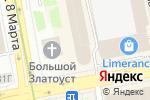 Схема проезда до компании Школа дальнейшего энергоинформационного развития в Екатеринбурге