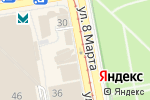 Схема проезда до компании Pizza & Burger в Екатеринбурге