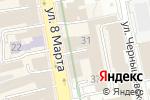 Схема проезда до компании Школа импровизации Романа Сухих в Екатеринбурге