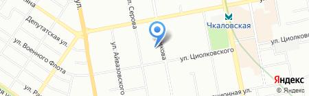 АЛПАЙН-Центр на карте Екатеринбурга