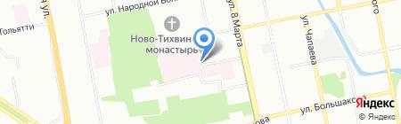 Военный клинический госпиталь №354 на карте Екатеринбурга