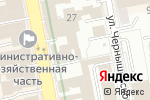 Схема проезда до компании Аква Инженеринг в Екатеринбурге