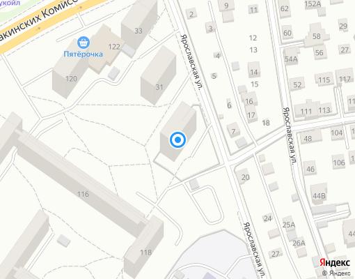 Товарищество собственников жилья «Ярославец» на карте Екатеринбурга