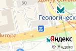 Схема проезда до компании Антик в Екатеринбурге