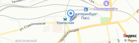 Аптека КЛАССИКА на карте Екатеринбурга