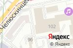 Схема проезда до компании Сибирский Путь в Екатеринбурге
